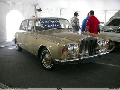 Picture of Bobby Vinton's Rolls Royce