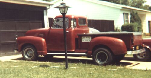 Picture of my 1950 Chevrolet Pick up