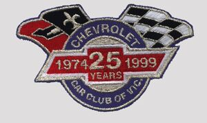 Image of the Chevrolet Car Club of Victoria's LOGO