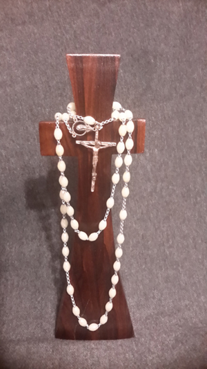 My Rosary Beads on a Special Cross